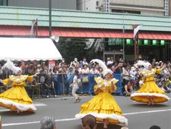 第33回浅草サンバカーニバルパレードコンテスト 当日の様子