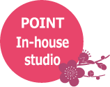 POINT: In-house studio